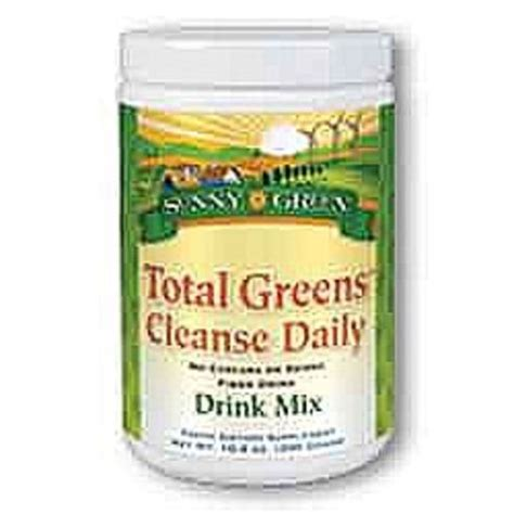 Greens Plus Daily Detox by Green Total Greens Cleanse Daily 10 6 Oz