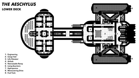 spaceship floor plans sci fi spacecraft blueprints page 2 pics about space