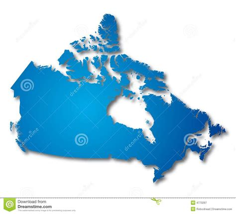canada map vector map canada vector royalty free stock photography image
