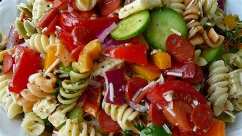 pasta salad dressing recipe pasta salad with homemade dressing recipe allrecipes com