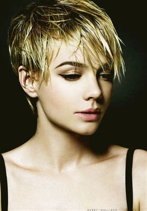 formal comb back pixie cut carey mulligan hairstyle hairstyles carey mulligan ideas for when my hair grows back