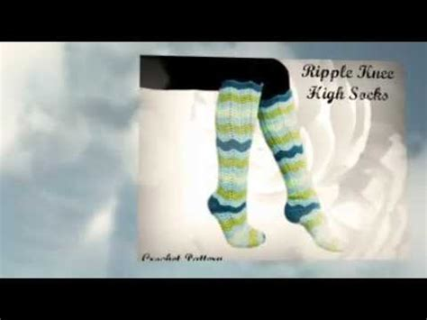 socks pattern youtube crochet knee high socks pattern youtube