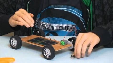 How To Make A Model Car Out Of Paper - how to make a solar car
