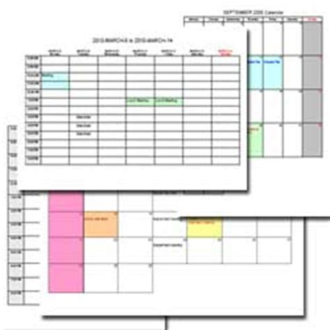 printable daily planner software printable calendars make life more organized evinco