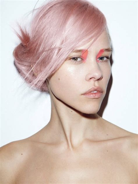 hairstyles color pink pastel pink hair color creative color pinterest