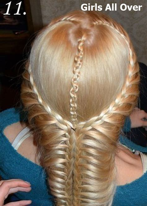 lace braid step by step girls fashion and style braid hairstyles how to make