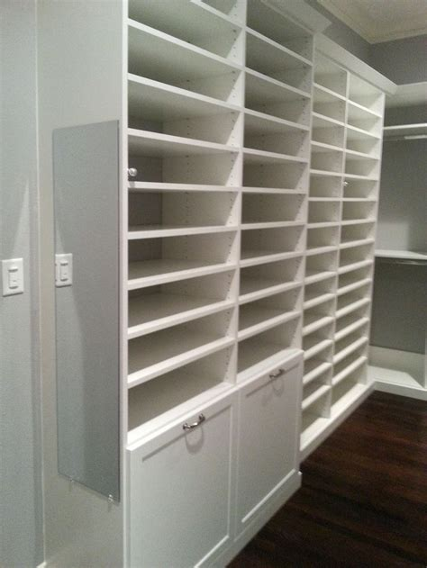 custom closet shoe storage 28 images more space place