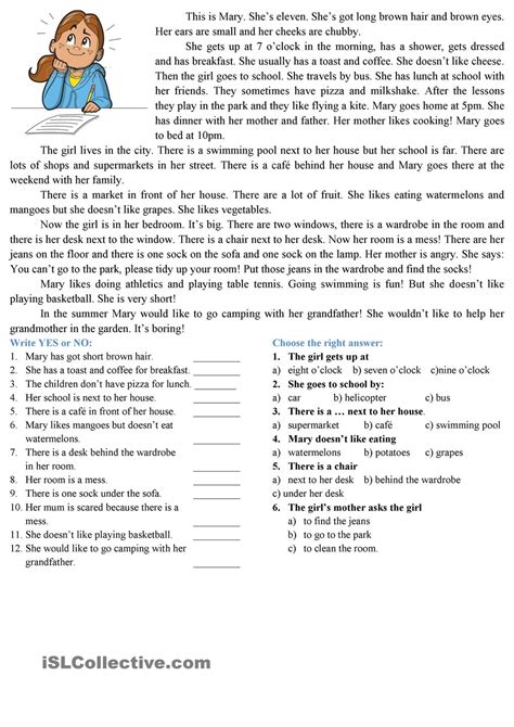 free printable reading comprehension worksheets uk reading comprehension esl worksheets of the day
