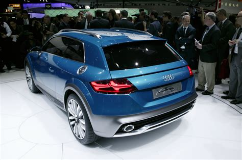 audi ute audi allroad shooting brake concept at 2014 detroit is