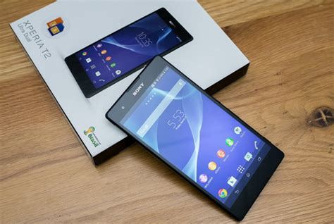 Hp Android Sony T2 Ultra biareview sony xperia t2 ultra