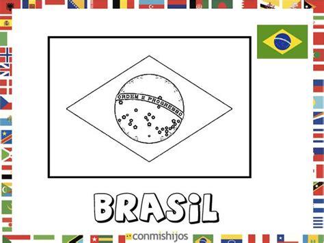 dibujos de banderas del mundo para imprimir bandera de brasil dibujos de banderas para pintar