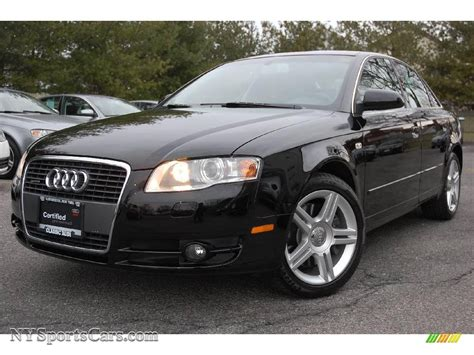 audi 2007 a4 quattro 2007 audi a4 2 0t quattro sedan in brilliant black