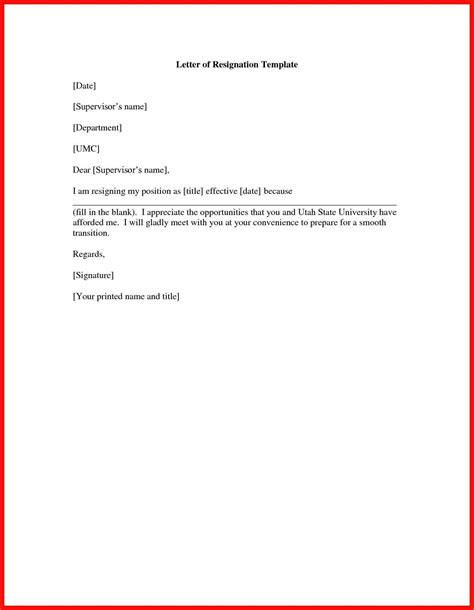 exit letter from employer apa exle