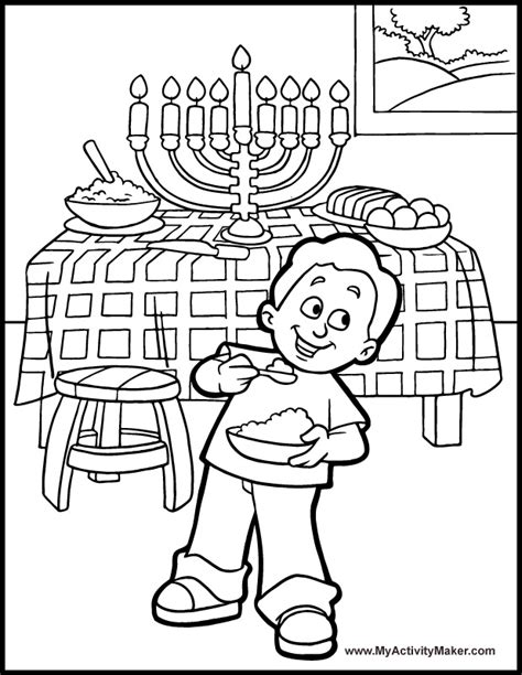 coloring page hanukkah hanukkah coloring pages for kids az coloring pages