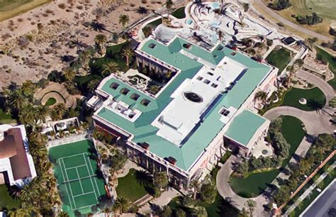 Sheldon Adelson House by Aerial Pics Of Billionaire Sheldon Adelson S 44 000 Square