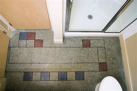 acid stained and coloured concrete floors