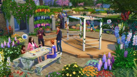 Backyard Stuff by The Sims 4 Garden Stuff Announced
