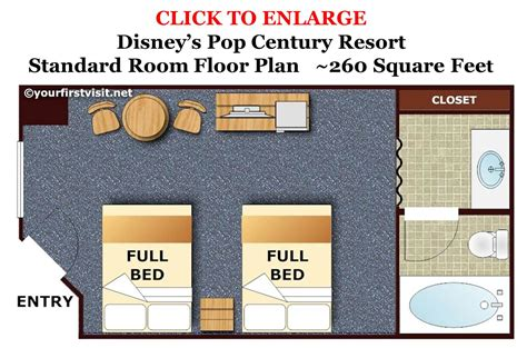 Disney Art Of Animation Floor Plan by Review Disney S Pop Century Resort