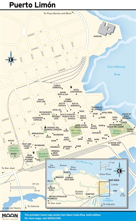 maps of costa rica printable travel maps of costa rica moon travel guides