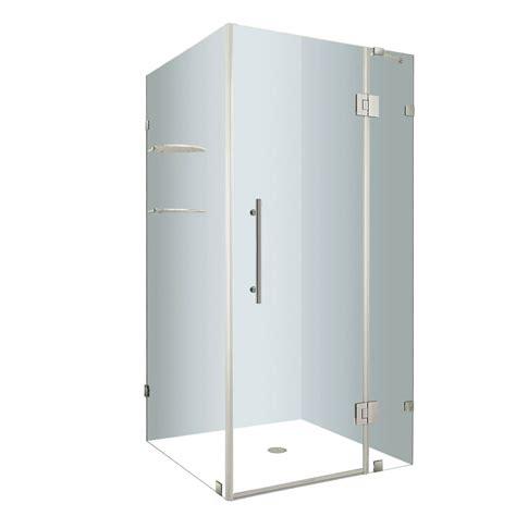 32 Inch Shower Stall Aston Avalux Gs 32 Inch X 32 Inch X 72 Inch Frameless