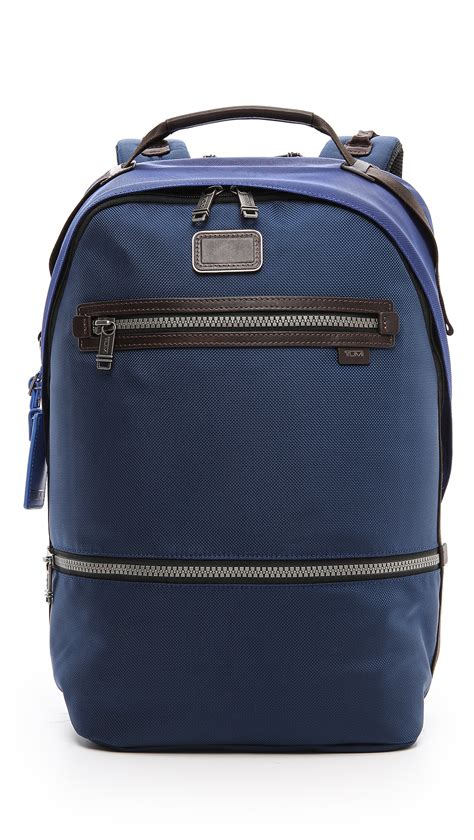 Tumi Backpacker 1 tumi alpha bravo cannon backpack in blue for baltic cadet lyst
