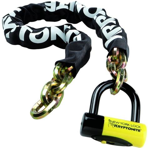 cadena kryptonite chile kryptonite new york fahgettaboudit bike chain lock 1410