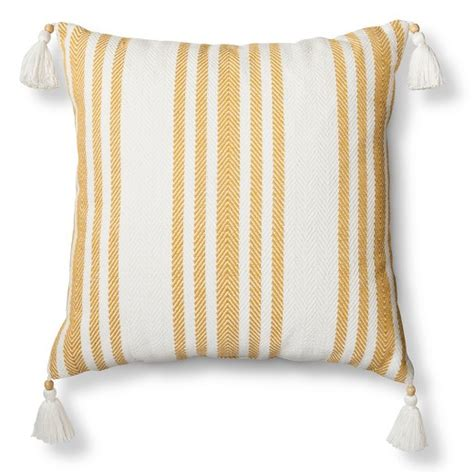 Striped Sofa Pillows by Woven Striped Throw Pillow Threshold Target