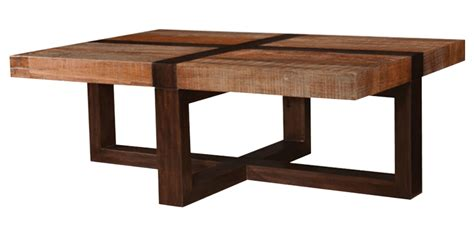 coffee table looks rectangle coffee table in reclaimed wood look