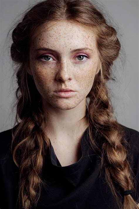 red head teens with corn rolls 50 beautiful girls with freckles lights makeup and face