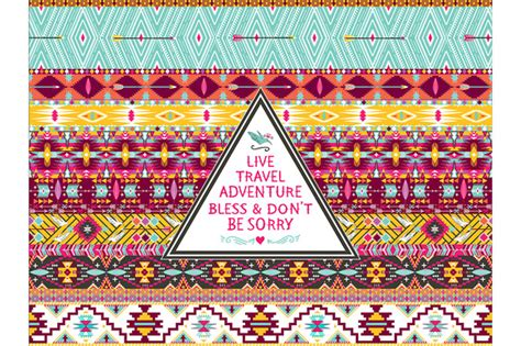 aztec pattern quotes pink hipster wallpaper 187 designtube creative design content