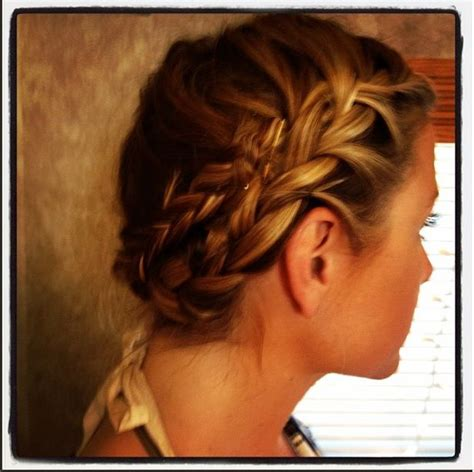 easy way to make hairstyles easy way to make french braids an updo try pinterest