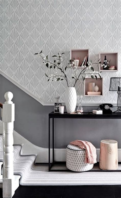 picture of metallic grey and bold pink home decor ideas