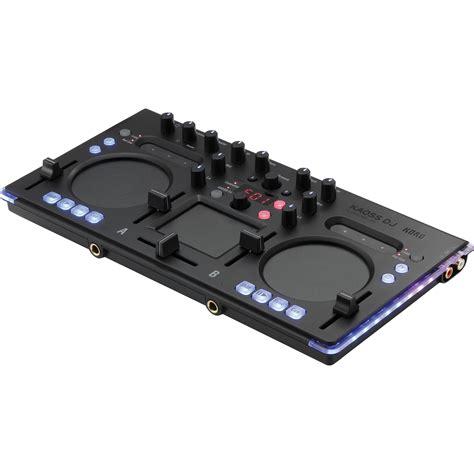 Korg Dj Controller Kaoss Dj korg kaoss dj controller audio interface and kaossdj b h