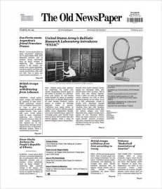 free newspaper templates for google docs free newspaper template 10 blank google docs word