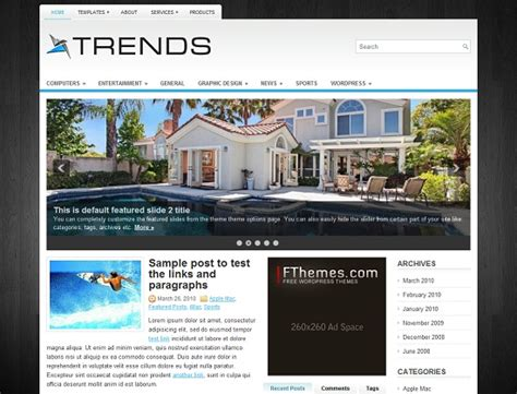 wordpress theme orion free 45 best free wordpress themes to download entertainmentmesh