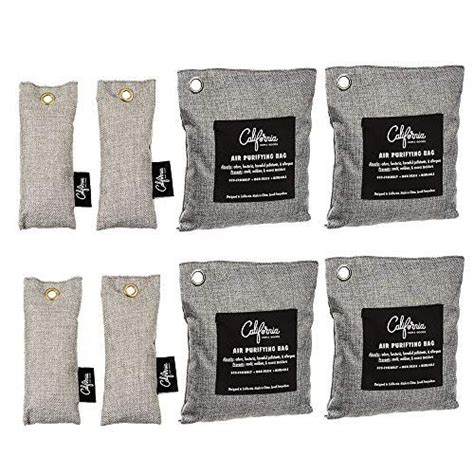 bamboo odor eliminator bags  pack bamboo charcoal air