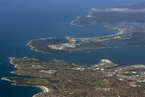 botany sydney file sydney aerial view kurnell la perouse cronulla