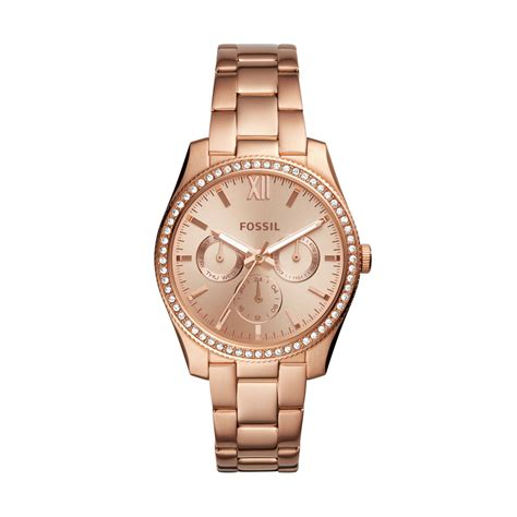 Fossil Gold watches fossil