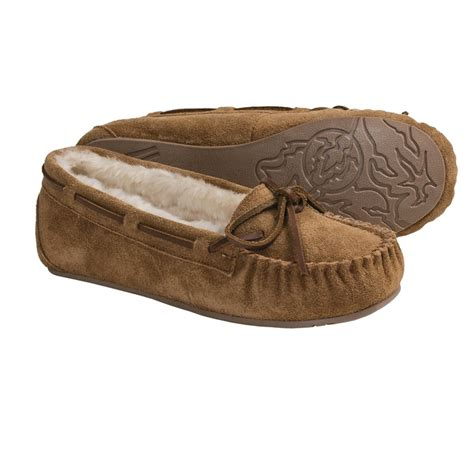 clarks house shoes clarks suede moccasin slippers for women