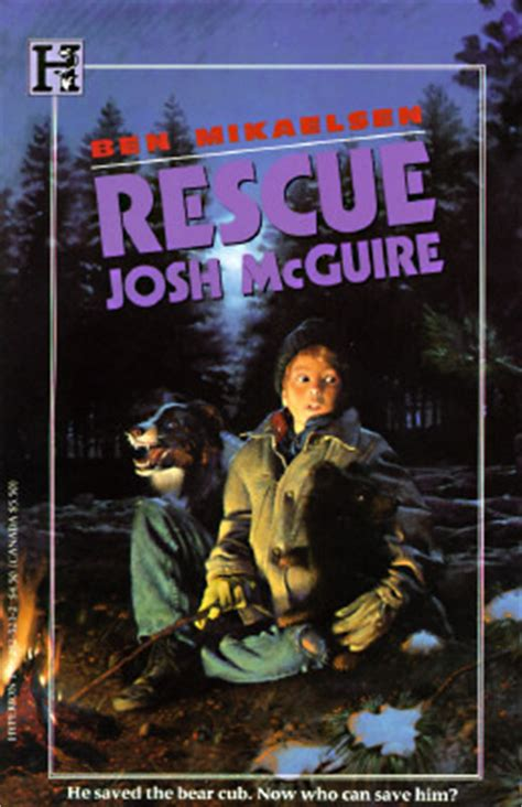 rescuing books rescue josh mcguire by ben mikaelsen reviews discussion