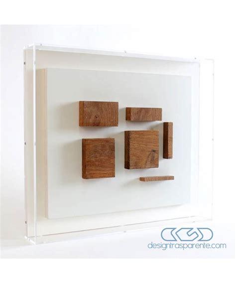 cornici per quadri in plexiglass cornice a giorno cm 40x40x5 box in plexiglass teca per quadri