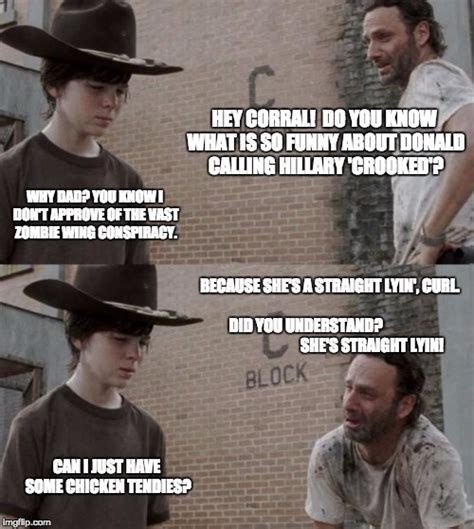 Hey Carl Meme - rick and carl meme imgflip
