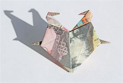 Money Origami Swan - origami with two swans money origami gifts