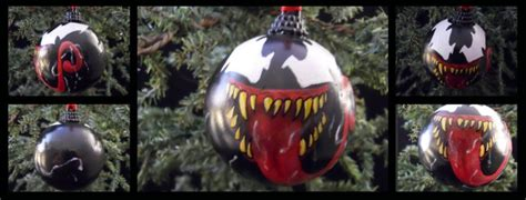 venom ornament marvel by sicklygoregous on deviantart