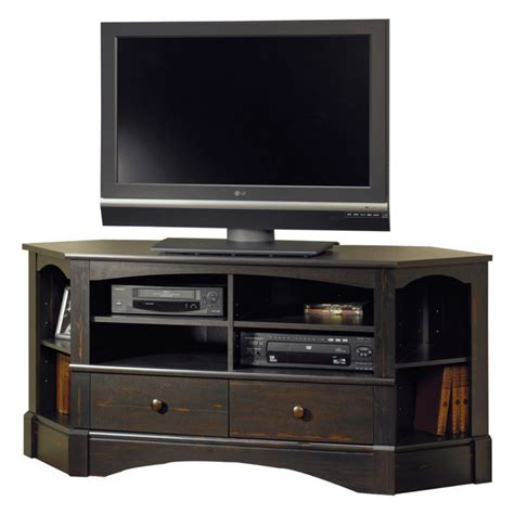 Sauder Black Bookcase 5 Best Corner Tv Stand Maximizing Your Home Space Tool Box