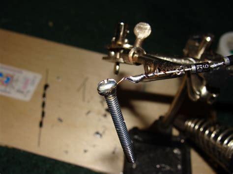 terminals of a diode home made high voltage rectifier using series strings of diodes