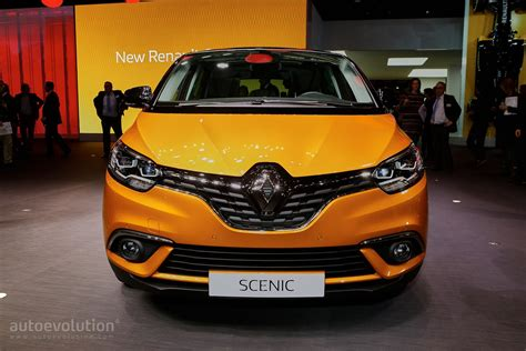 renault geneva all new renault scenic is an overdesigned mpv with