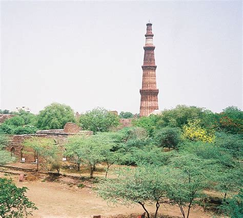 qutub minar biography in english file panoramic view of qutub minar from dilkhushajpg jpg