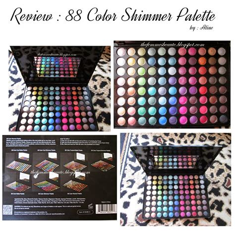 Harga Pac Eyeshadow Palette 48 Color thefemmesbeaute review 88 color palette shimmer