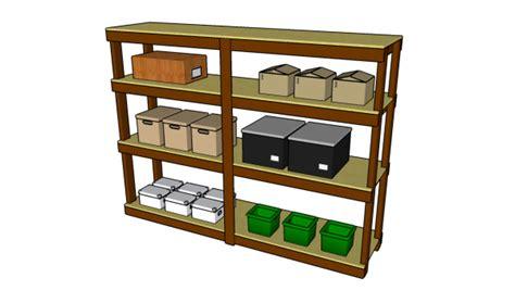 garage shelves plans garage shelving plans myoutdoorplans free woodworking plans and projects diy shed wooden